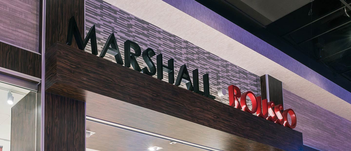 Marshall Rousso Exterior Sign